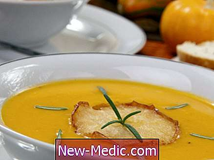 Stekt Squash & Apple-suppe